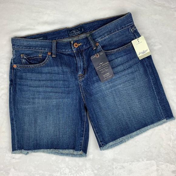 Lucky Brand Pants - NWT Lucky Brand Laguna Raw Hem Shorts Size 28